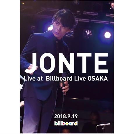 JONTE LIVE DVD 「JONTE Live at Billboard Live OSAKA」